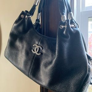 Chanel Hobo Bag Medium with Silver Hardware